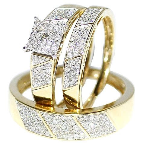 Wedding Rings Sets For Him And Her Cheap   lautarii.info