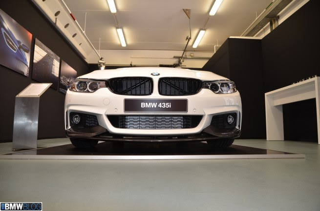 BMW M Performance Parts for BMW 4 Series Coupe   Video