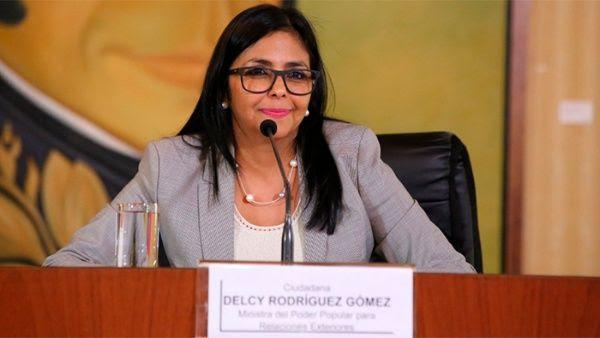 Canciller Delcy Rodriguez