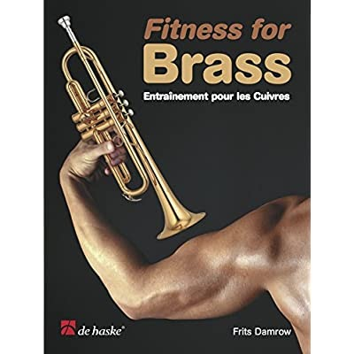 F Fitness for Brass Trumpet Book Only Frits Damrow