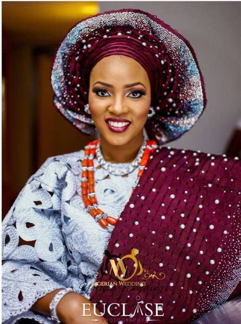 Nigerian Wedding Presents TOP Aso Oke Color Combinations