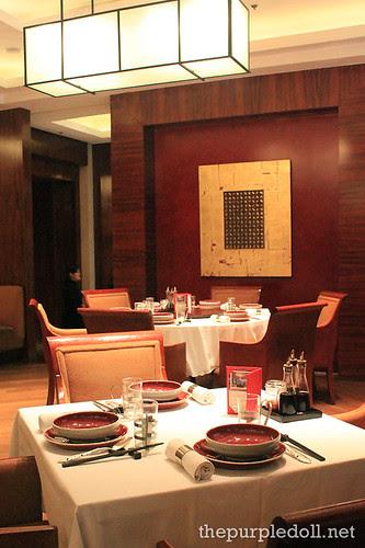 LiLi Hyatt Dining Area