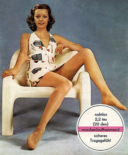 vintage hosiery package
