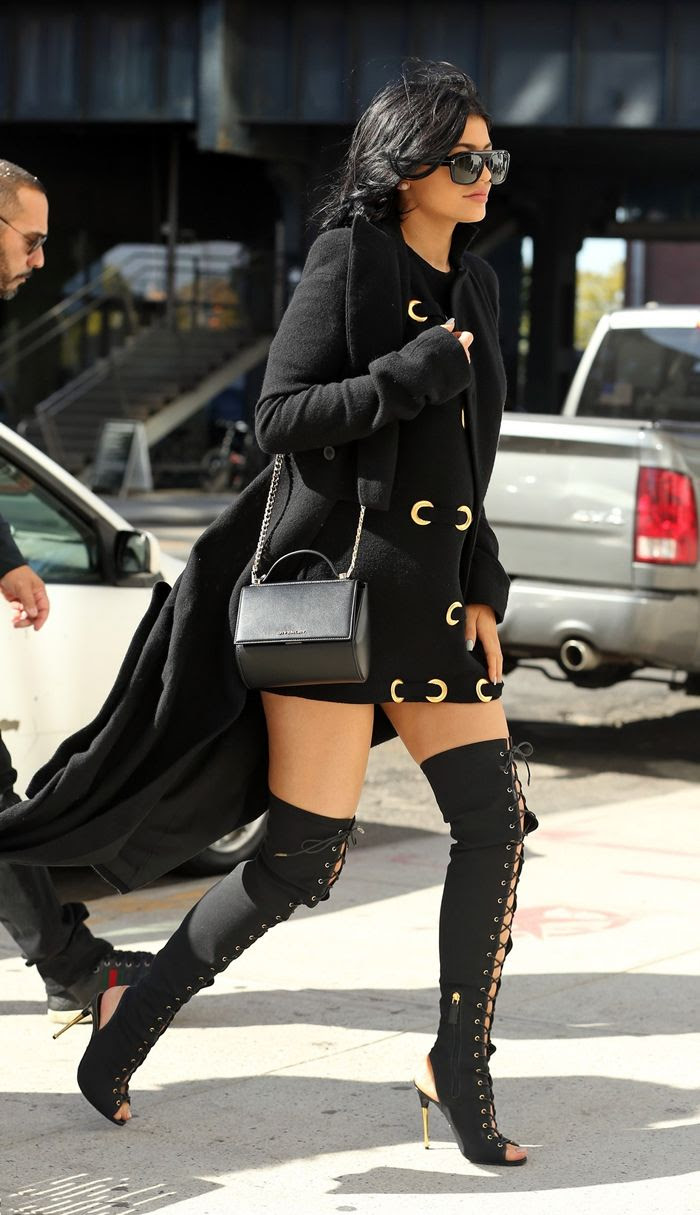 kylie jenner's wardrobe collection  fashion style trends 2019