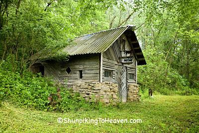 Ted Sawle's Blacksmith Shop, Iowa County, Wisconsin