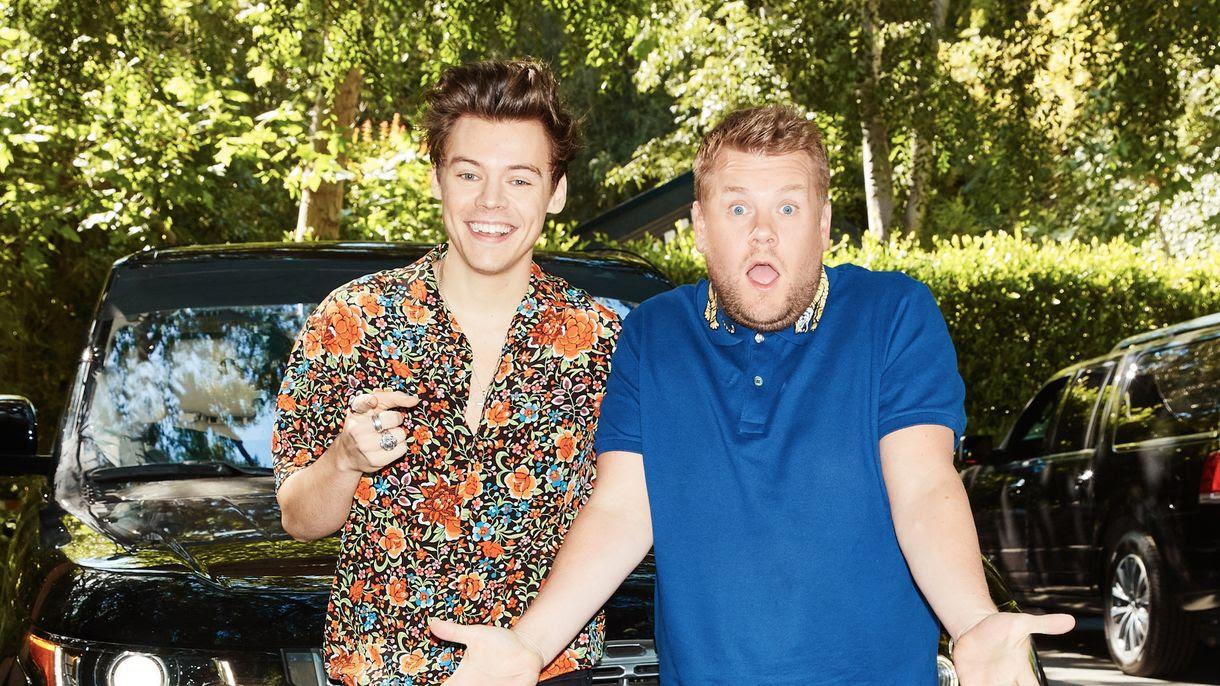 Image result for Harry Styles Carpool Karaoke