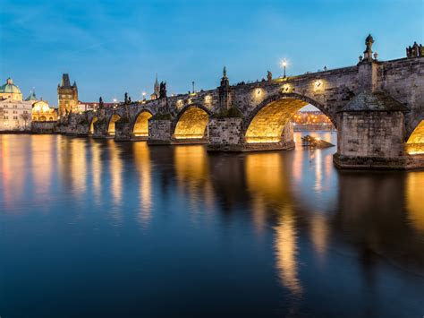 charles bridge historic bridge   river vltava