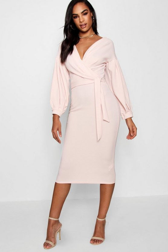 Services yandy dress tall wrap midi shoulder bodycon off the
