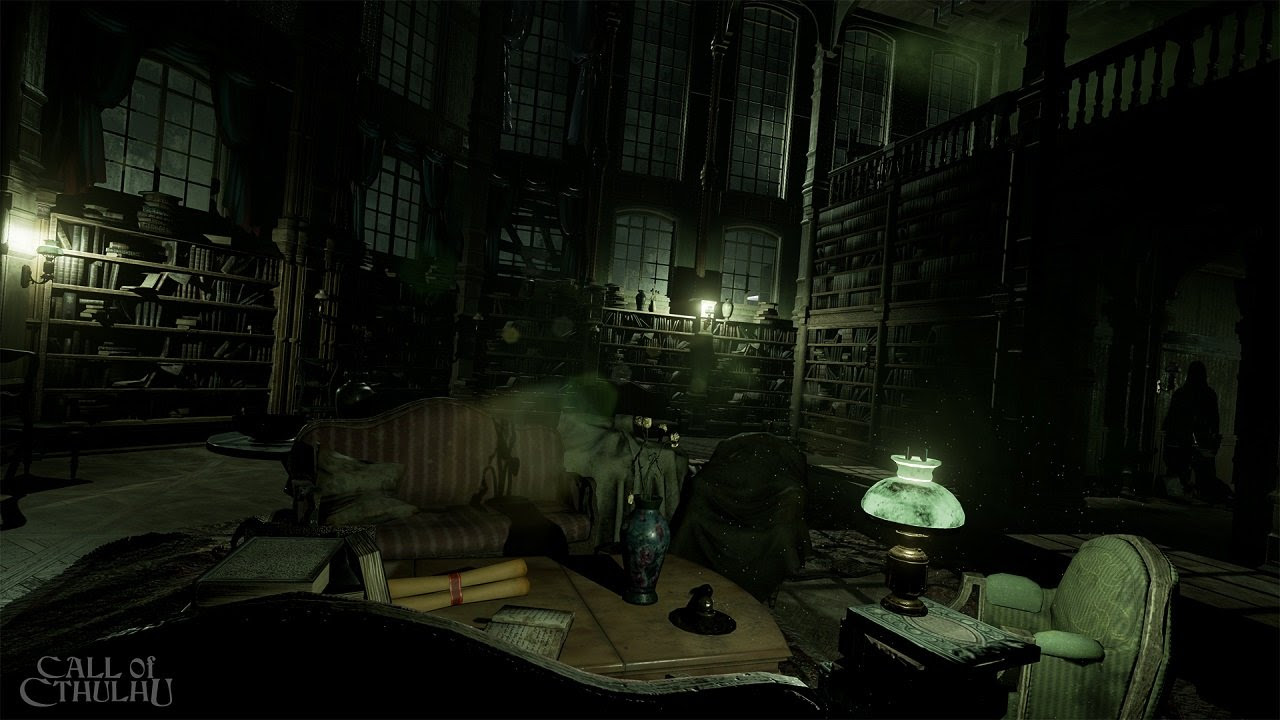 Prepare to question reality in upcoming Call of Cthulhu game screenshot
