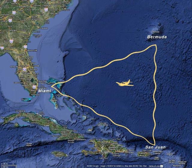 O Triângulo das Bermudas e Atlântida