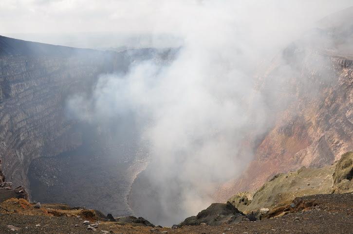 Nicaragua, volcan Masaya
