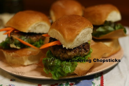 Nem Nuong (Vietnamese Grilled Pork Patty) Sliders 2