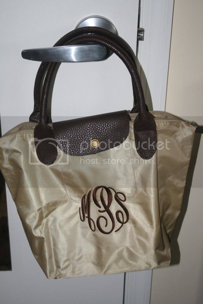 Marley Lilly Has So Many Different Combinations For Their Champ Purse I Went With The Classic Monogrammed Khaki Combination And Couldn T Be Hier