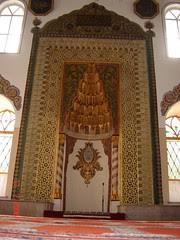 Di Dalam Orhan Gazi Mosque, Bursa, Turkey