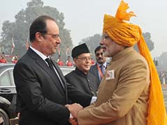 PM Narendra Modi Bids Farewell To Francois Hollande, Says France Is Special