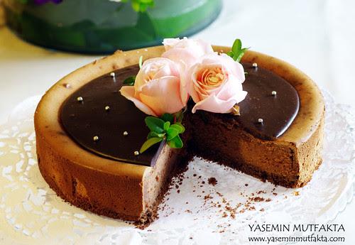 Çikolatalı Peykek / Chocolate Cheseecake