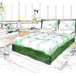Dimensionamento camera da letto: idee d'arredo per singola e matrimoniale