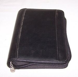 Black 365 Franklin Covey 6 Ring Day Planner with Inserts and ...