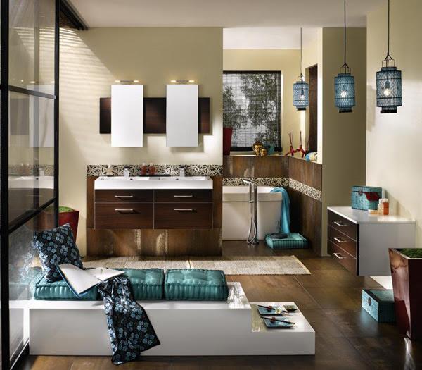 Stylish Bathroom Design Ideas | InteriorHolic.