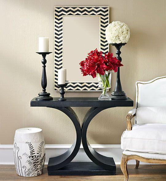 mueble negro , tendencia , decoración ,