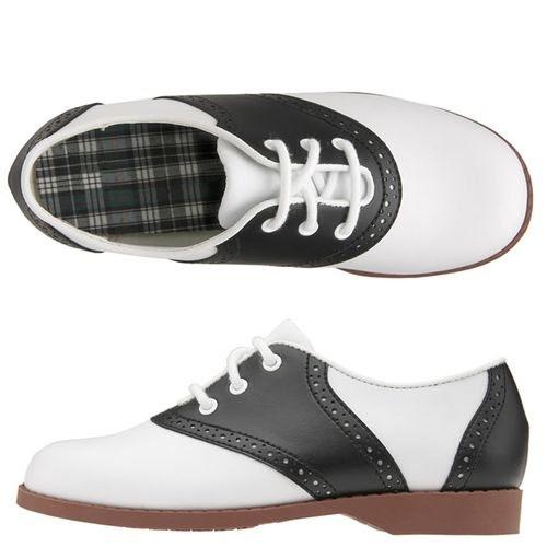 Black and White Saddle                   Shoes