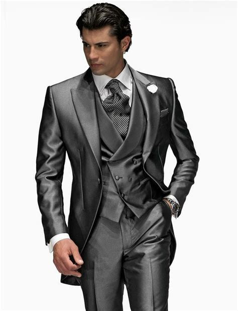 Custom Made Men Wedding Suits Groom Tuxedos Formal Best