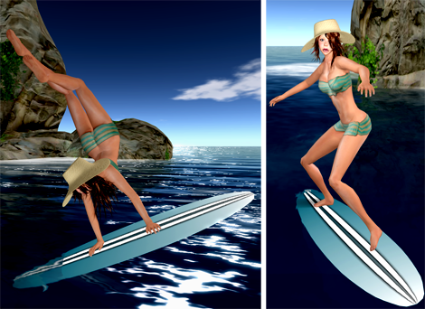 NEW! Adorkable Surfer Girl