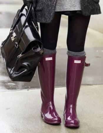Les bottes qui ne craignent pas la pluie