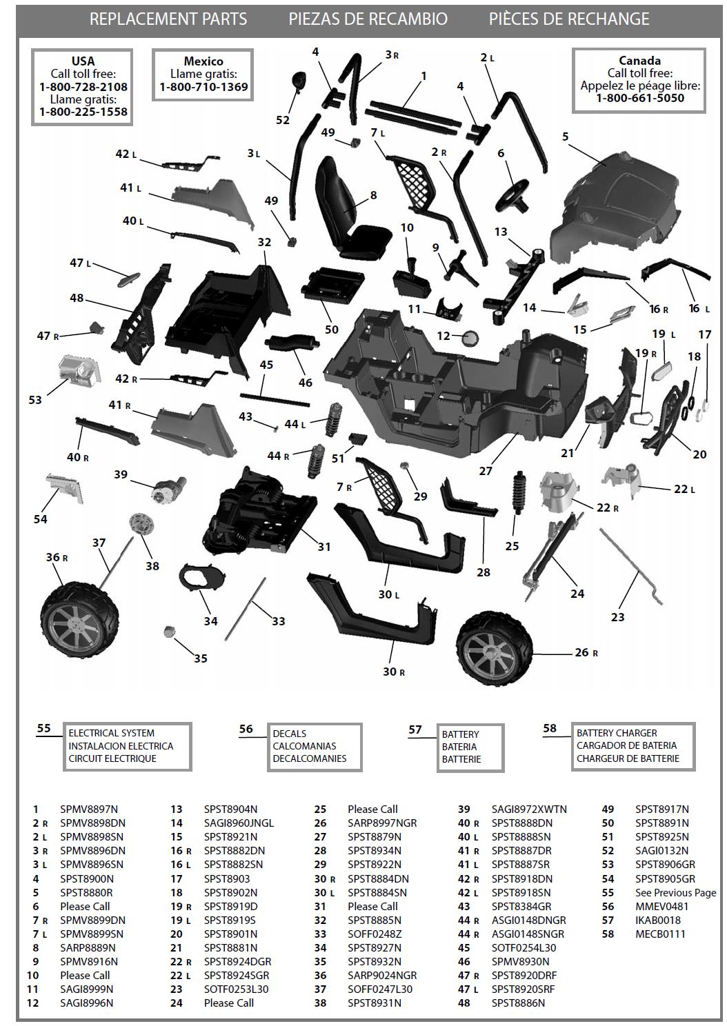 34 Polaris Sportsman 800 Parts Diagram