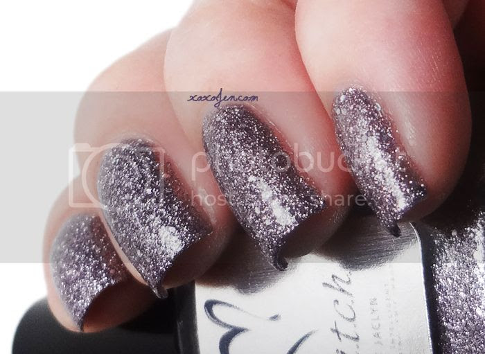 xoxoJen's swatch of b.i.t.c.h. by Jaclyn Her Royal Kiss-Ass