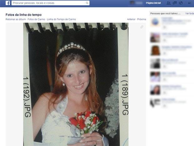 Daniela Aparecida Pereira Barbosa, de 22 anos, foi encontrada morta em cafezal em Carmo do Rio Claro (Foto: Reprodução Facebook)