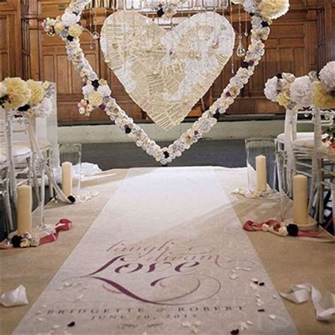 Expressions Personalized Aisle Runner   The Knot Shop