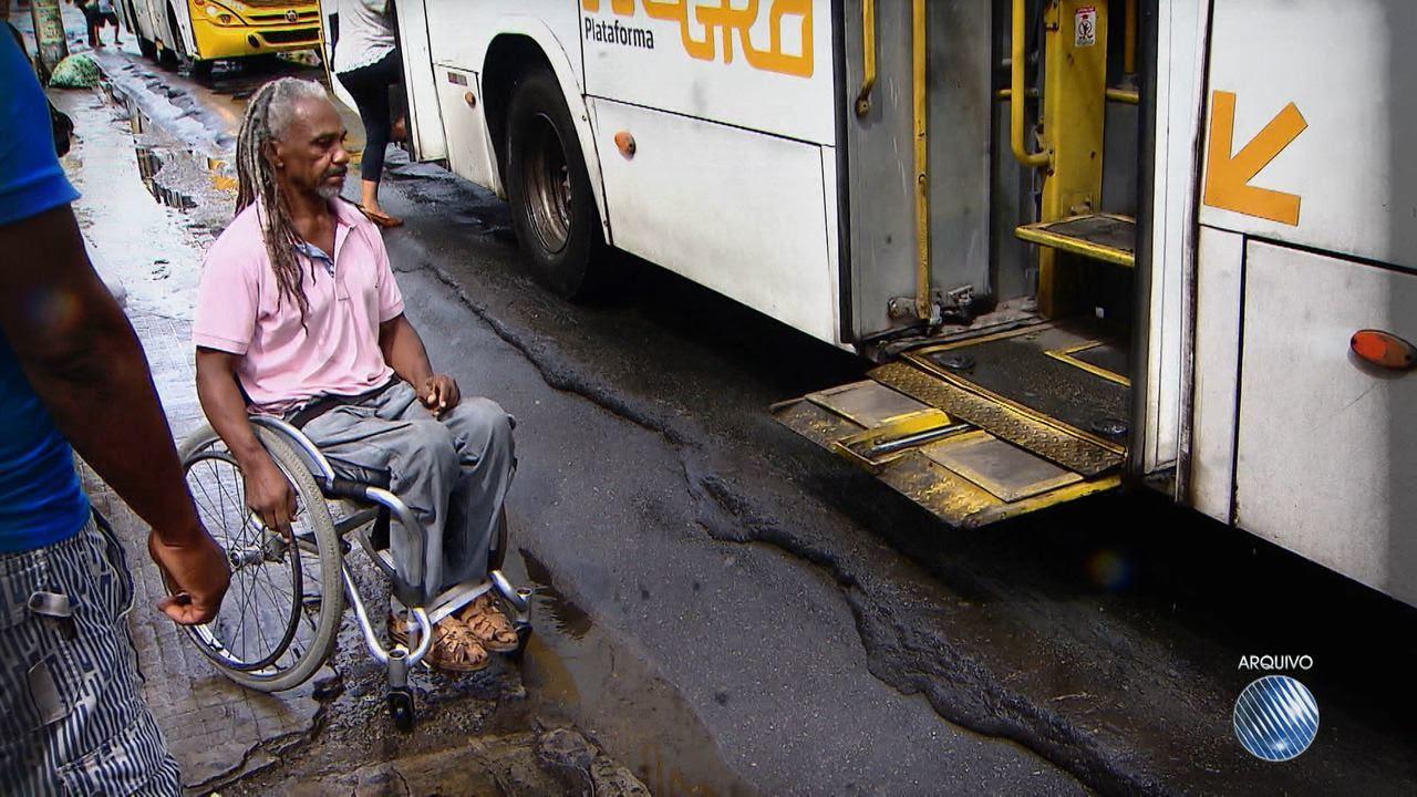 Resultado de imagem para Bahia é o 2º estado com pior índice de acessibilidade no transporte púlico, segundo o IBGE