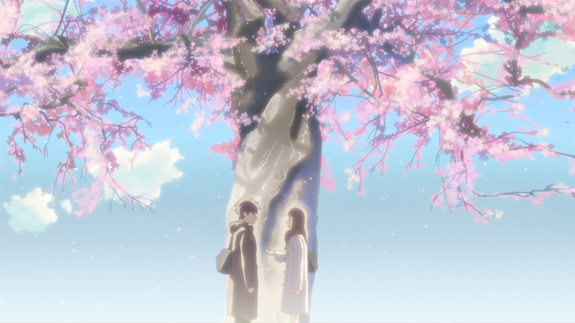 High Resolution Wallpaper Of Anime 5 Centimeters Per Second