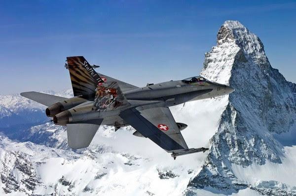 F-18 Hornet Suiza