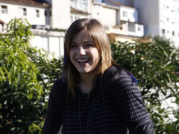 Alice Wegman é a rebelde Lia na nova temporada de Malhação (Foto: TV Globo / Thaís Jordão)