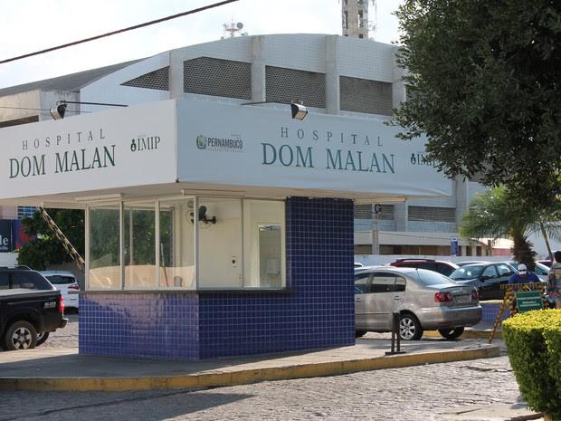 Cremepe considera crítica a situação do Hospital Dom Malan (Foto: Taisa Alencar/G1)