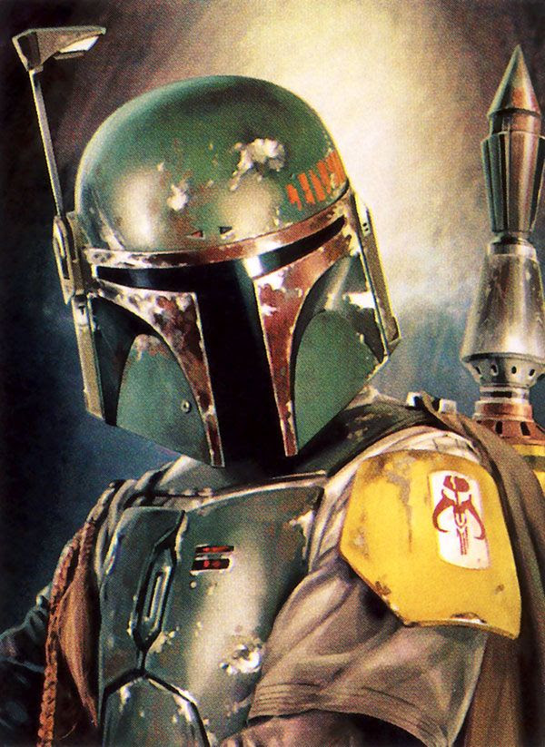 Boba Fett artwork #3.