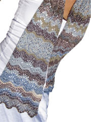 Greece Scarf Knitting Pattern