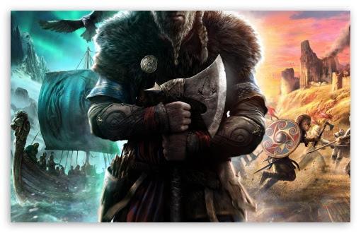 Assassins Creed Valhalla Ultra Hd Desktop Background Wallpaper For Tablet Smartphone