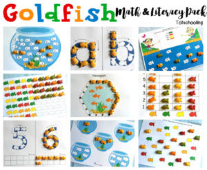 Goldfish Math Literacy Pack