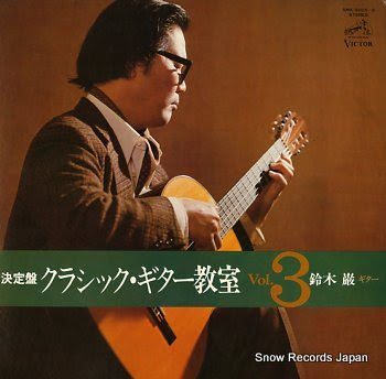 SUZUKI, IWAO clasic guitar kyositsu vol.3