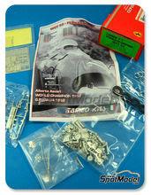 Maqueta de coche 1/43 Tameo Kits - Ferrari 500 F2 - Nº 12 - Alberto Ascari - Gran Premio de Italia 1952 - maqueta de metal