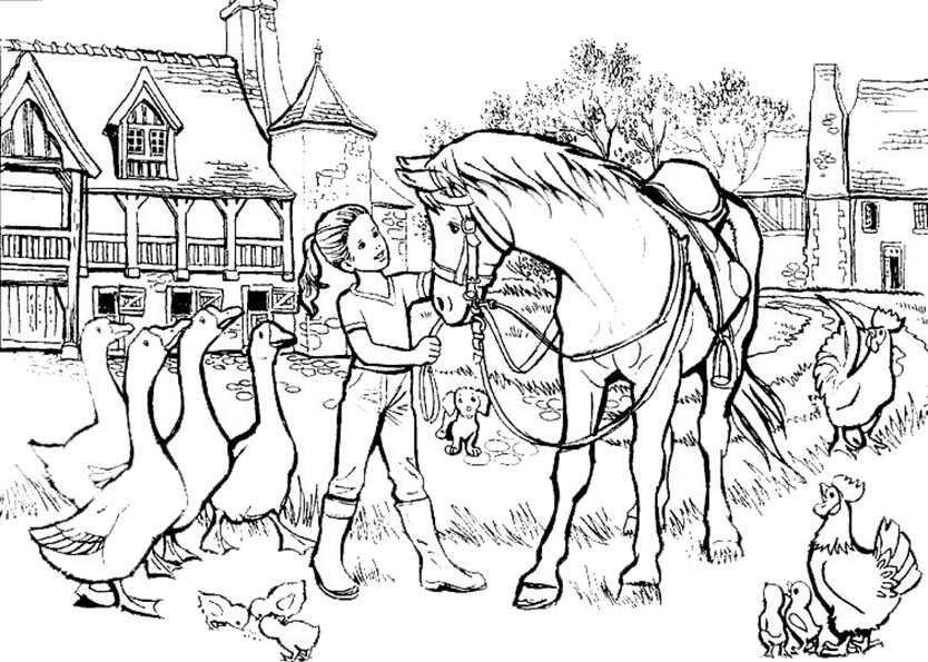 Ausmalbilder Kostenlos Pferde 11 | Ausmalbilder Kostenlos