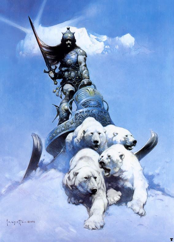 Frank Frazetta - The Silver Warrior