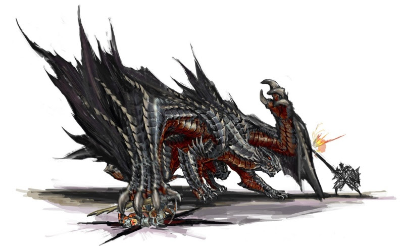 Monster Hunter - Gore-Magala