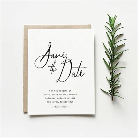 Paperlust // Save the Date Wording Guide   Wedding