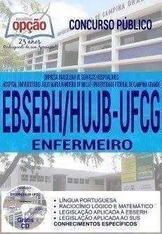 Apostila Concurso EBSERH HUJB ENFERMEIRO