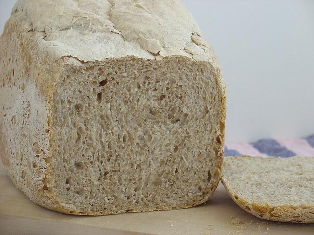 Pan integral básico en panificadora