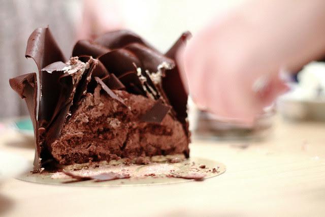 Patisserie Tony Wong Rose Chocolate Cake